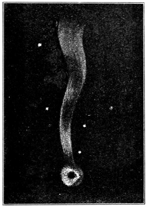 Halley's Comet in 1682